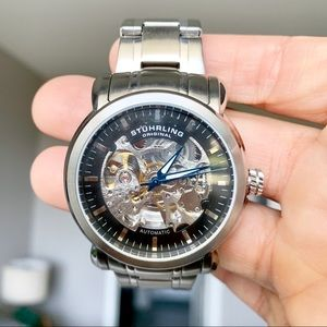 Stuhrling Original Skeleton Watch